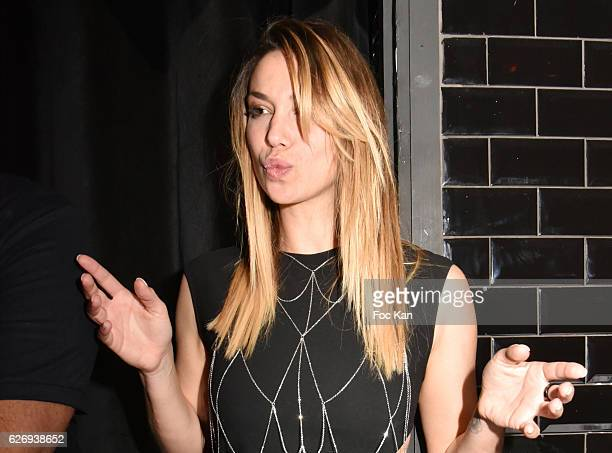 Chronicler/ Yoga teacher/model Clio Pajczer attends Charlotte Namura and Clio Pajczer DJ Party at La Gioia in VIP Room Theater on November 30 2016 in...