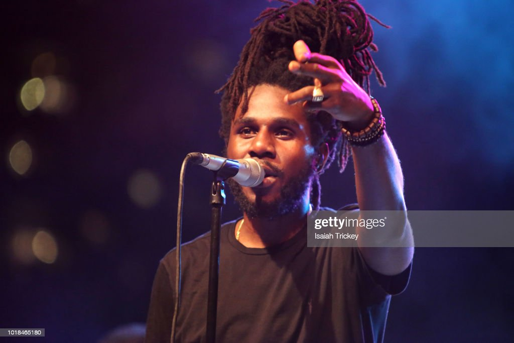Chronixx And Zincfence Redemption Band Perform At Nathan Phillips Square