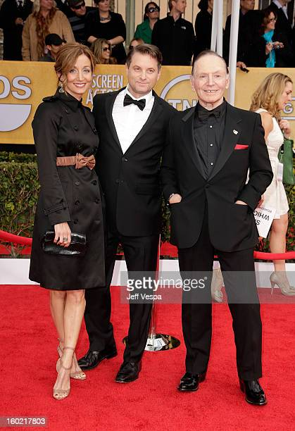 Chrtistine Whigham Shea Whigham and Paul Herman arrive at the19th Annual Screen Actors Guild Awards held at The Shrine Auditorium on January 27 2013...