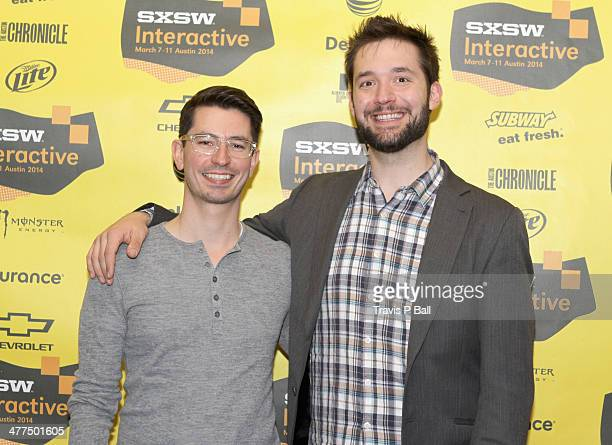 Chrys Bader Cofounder of Secret and entrepreneur Alexis Ohanian attend 'Be Awesome Without Their Permission' during the 2014 SXSW Music Film...
