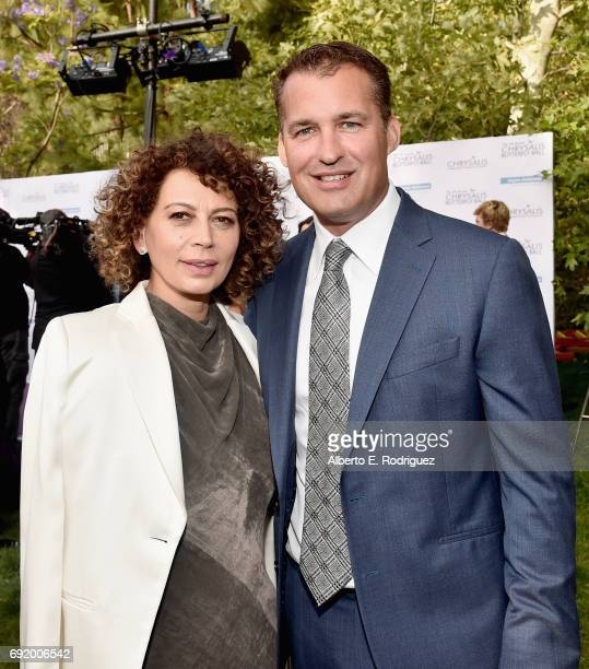 Chrysalis Butterfly Ball Cochair Donna Langley and Producer Scott Stuber at the 16th Annual Chrysalis Butterfly Ball on June 3 2017 in Los Angeles...