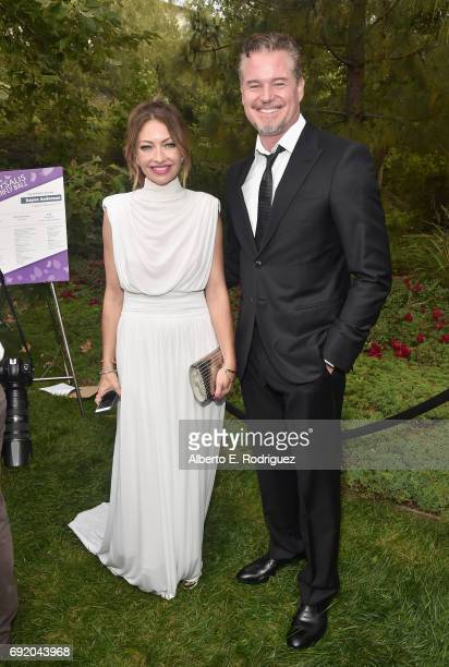 Chrysalis Butterfly Ball Cochair Rebecca GayheartDane and Actor Eric Dane at the 16th Annual Chrysalis Butterfly Ball on June 3 2017 in Los Angeles...