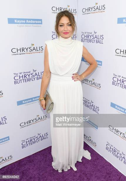 Chrysalis Butterfly Ball Cochair Rebecca GayheartDane at the 16th Annual Chrysalis Butterfly Ball on June 3 2017 in Los Angeles California