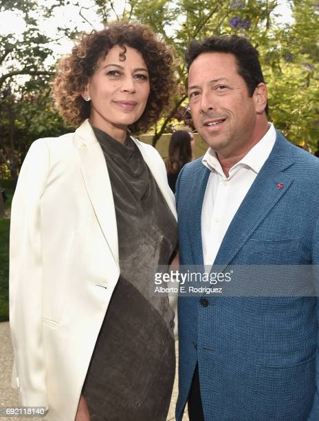 Chrysalis Butterfly Ball Cochairs Donna Langley and Josh Lieberman at the 16th Annual Chrysalis Butterfly Ball on June 3 2017 in Los Angeles...