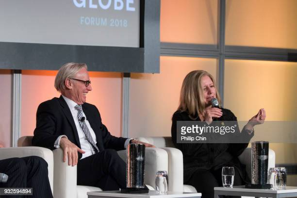 Chrysalix Energy Venture Capital President Wal Van Lierop and Vancity President Tamara Vrooman participate in the 'Beyond Clean Capitalism' panel...