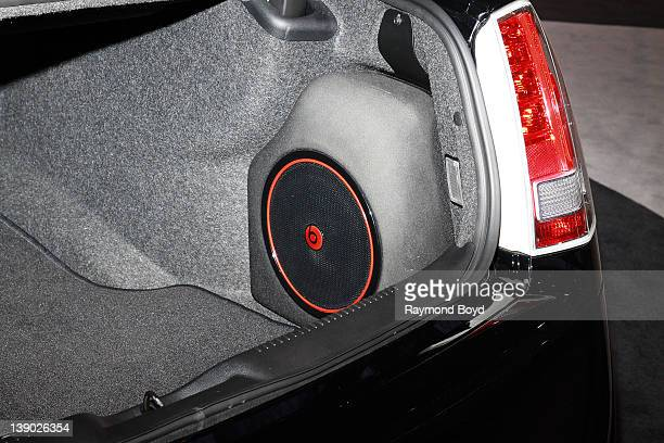 Chrysler 300 featuring the Beats By Dr Dre audio system at the 104th Annual Chicago Auto Show at McCormick Place in Chicago Illinois on FEBRUARY 08...