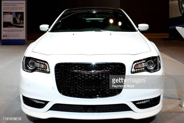 Chrysler 300 is on display at the 111th Annual Chicago Auto Show at McCormick Place in Chicago, Illinois on February 8, 2019.