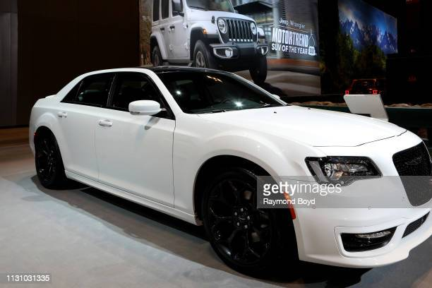 Chrysler 300 is on display at the 111th Annual Chicago Auto Show at McCormick Place in Chicago Illinois on February 8 2019