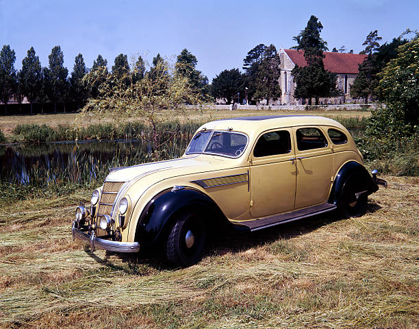 1935 Chrysler Airflow Car Pictures Getty Images