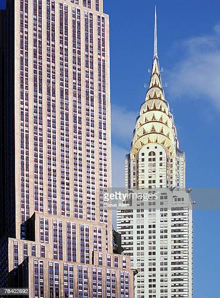 Chrysler and Empire State Buildings, New York City