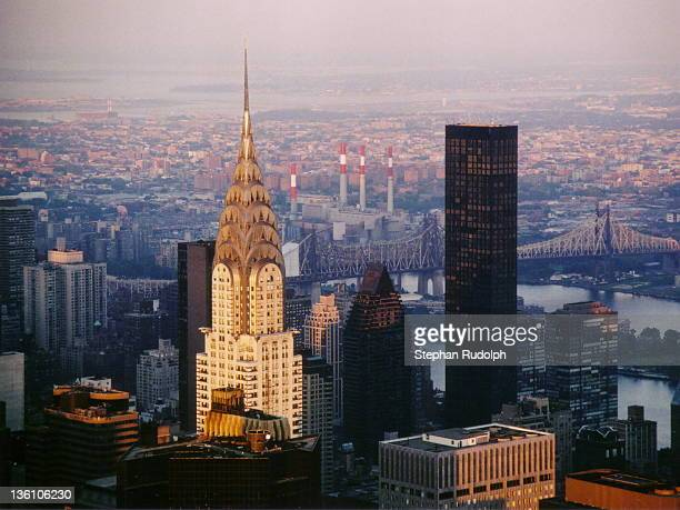 Chrysler building and Trump Tower