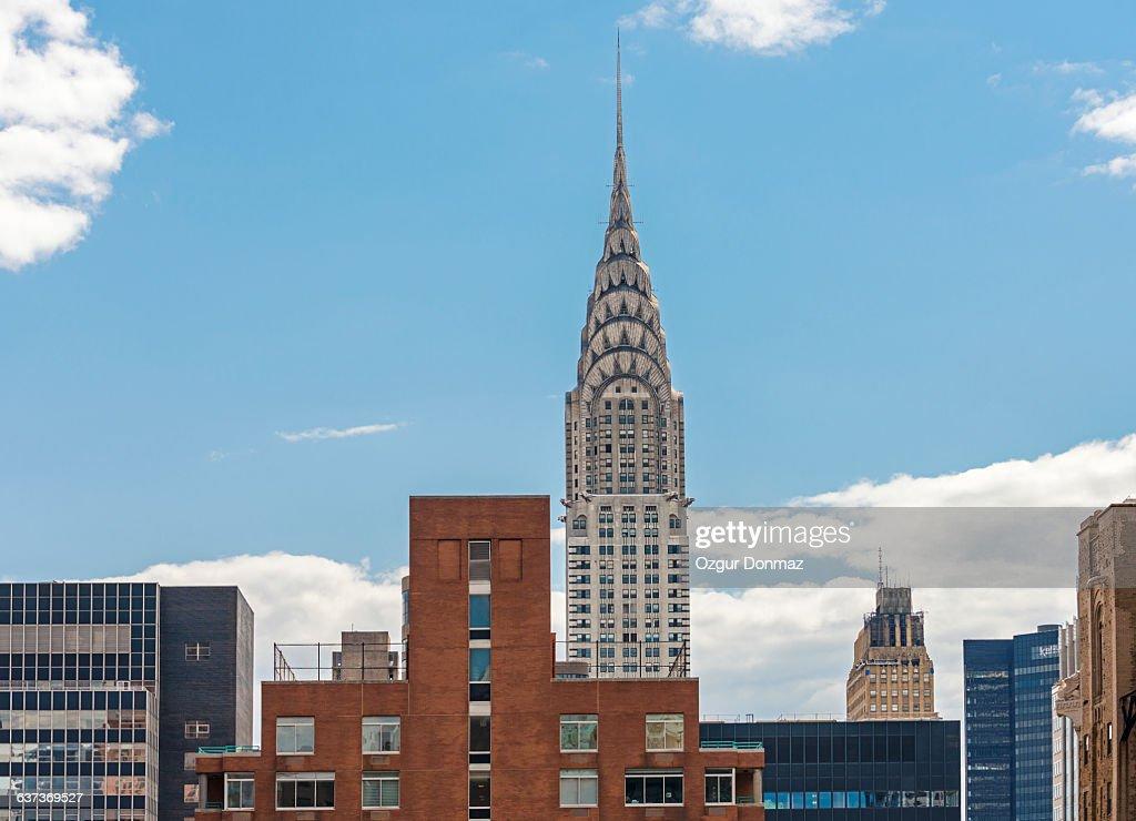 Chrysler Building in Manhattan : Stock Photo