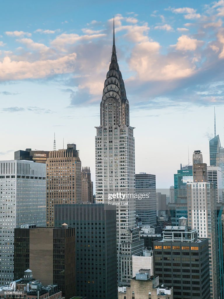 chrysler building new york city stock photo getty images. Black Bedroom Furniture Sets. Home Design Ideas
