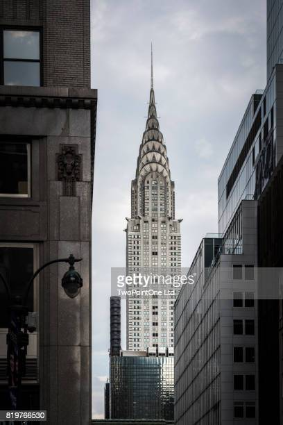 chrysler building, new york city - chrysler building stock pictures, royalty-free photos & images
