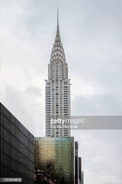 chrysler building - eric van den brulle stock pictures, royalty-free photos & images
