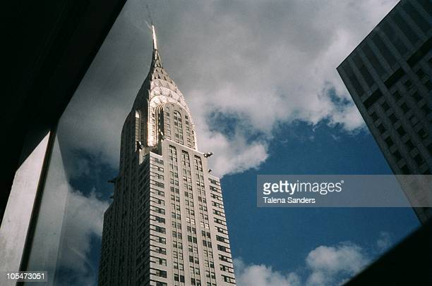 chrysler dream - chrysler building stock pictures, royalty-free photos & images