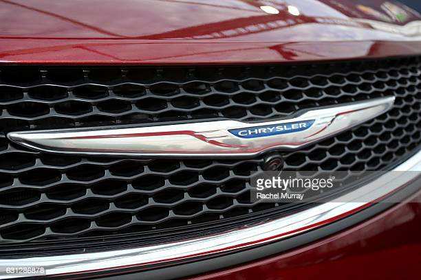 Chrysler is seen on display at the Universal NBC Focus Features E Entertainment Golden Globes after party sponsored by Chrysler on January 8 2017 in...