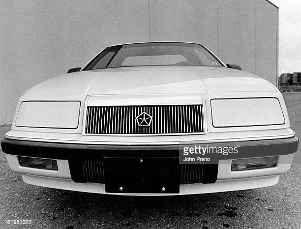 APR 10 1987 Chrysler Le Baron Coupe