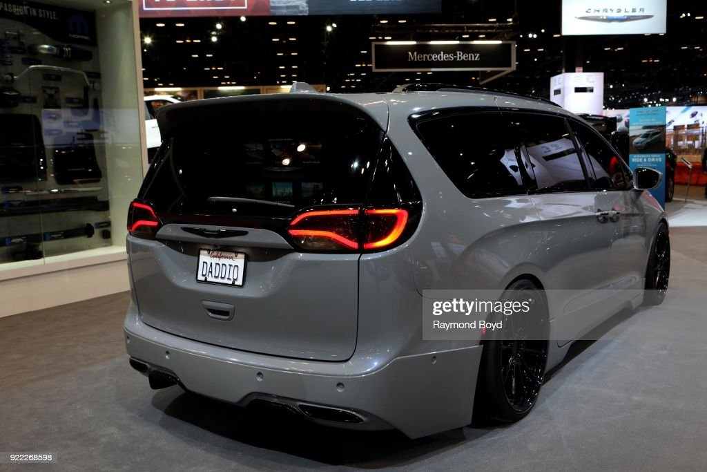 Chrysler Pacifica Hybrid is on display at the 110th Annual Chicago Auto Show at McCormick Place in Chicago, Illinois on February 9, 2018.