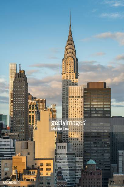 Chrysler Sunset - New York