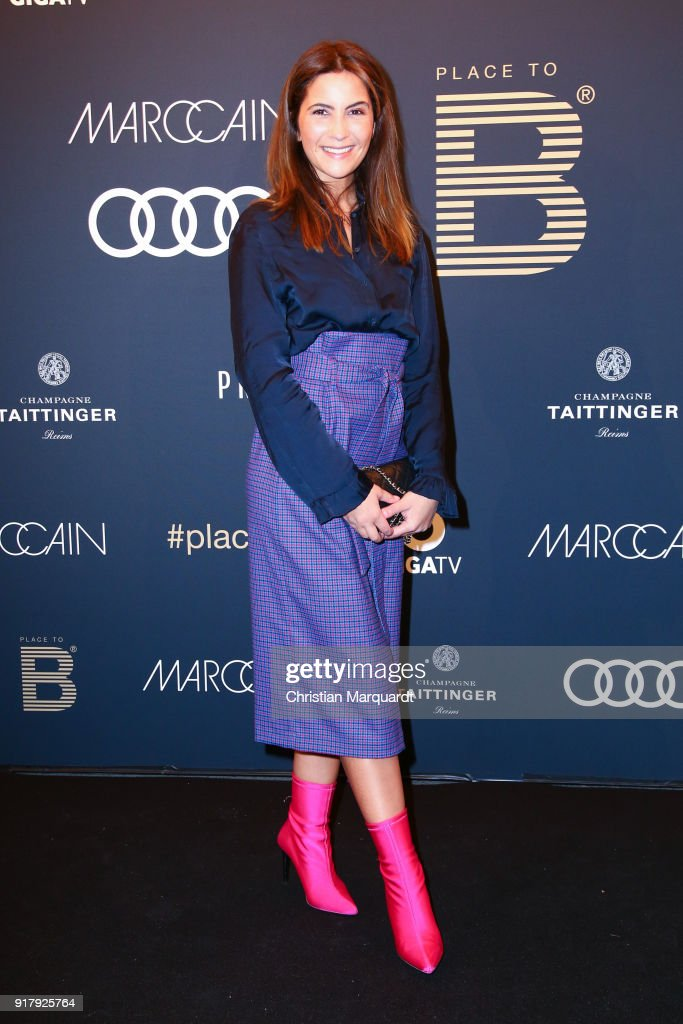 Chryssanthi Kavazi attends the PLACE TO B Pre-Berlinale-Dinner at Provocateur on February 13, 2018 in Berlin, Germany.