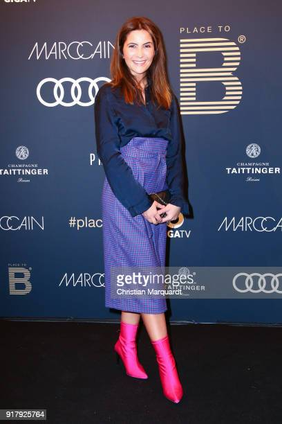 Chryssanthi Kavazi attends the PLACE TO B PreBerlinaleDinner at Provocateur on February 13 2018 in Berlin Germany