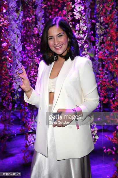 Chryssanthi Kavazi during the Place To B Berlinale Party Garden of Eden at Borchardt Restaurant on February 22 2020 in Berlin Germany