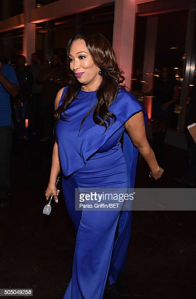 Chrystale Wilson arrives at From the Bottom Up presented by Centric at Ventanas on January 14 2016 in Atlanta Georgia