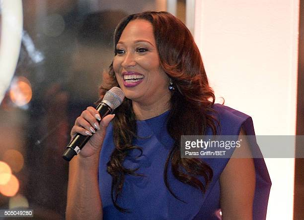 Chrystale Wilson attends From the Bottom Up presented by Centric at Ventanas on January 14 2016 in Atlanta Georgia