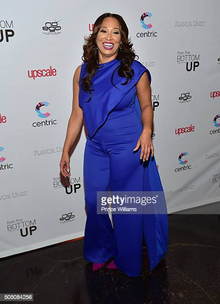 Chrystale Wilson attends From The Bottom Up Reception at Ventanas on January 14 2016 in Atlanta Georgia
