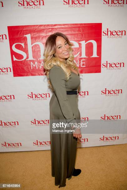 Chrystale Wilson attends Shades of Blackness Fashion Show Day 1 of 'Sheen Magazine Legendary Weekend 2017' at Atlanta Marriot Marquis on April 28...