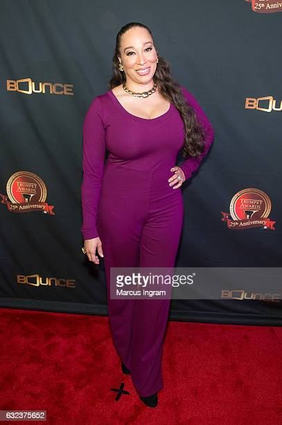 Chrystale Wilson attends the 25th Annual Trumpet Awards at Cobb Energy Performing Arts Center on January 21 2017 in Atlanta Georgia