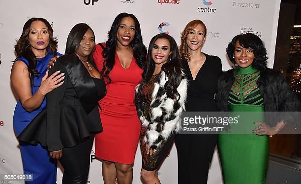 Chrystale Wilson Kim Smedley Nicci Gilbert Sara Stokes Christine Beatty and Staci Jae Johnson attend From the Bottom Up presented by Centric at...