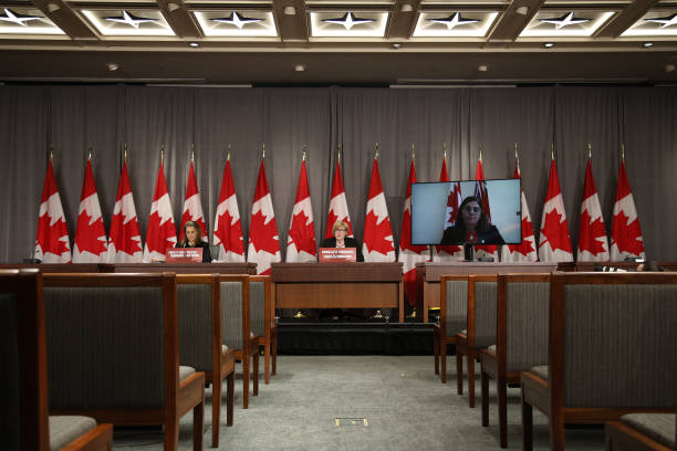CAN: Deputy Prime Minister Chrystia Freeland Holds News Conference