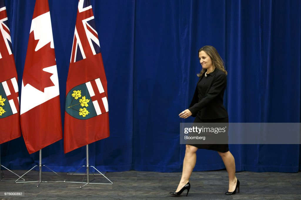 Ontarios Premier Designate Doug Ford Attends Nafta Briefing Photos