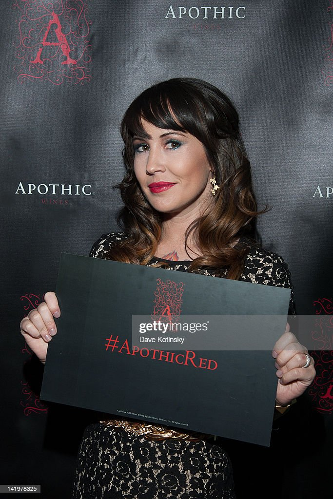 Chrystie Corns attend the Apothic white wine launch at The Wooly on March 27, 2012 in New York City.