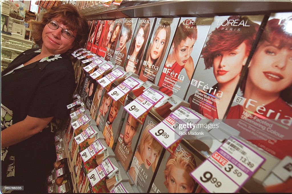 Chrystyna Kowal Nickname Binka Poses At The Shoppers Drug Mart