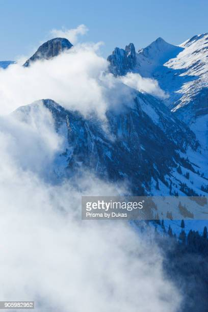 ChrÙzberg view from the Hoher Kasten Switzerland