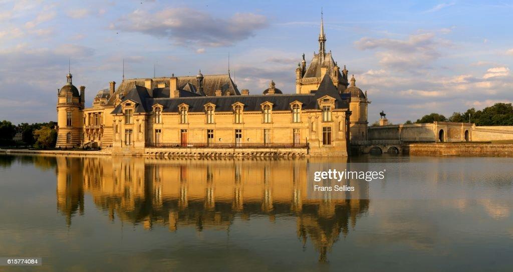 Château de Chantilly, Picardie, France : Stockfoto