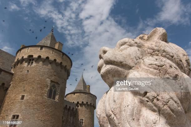 château de suscinio, a breton castle in sarzeau, morbihan, france - laurent sauvel photos et images de collection