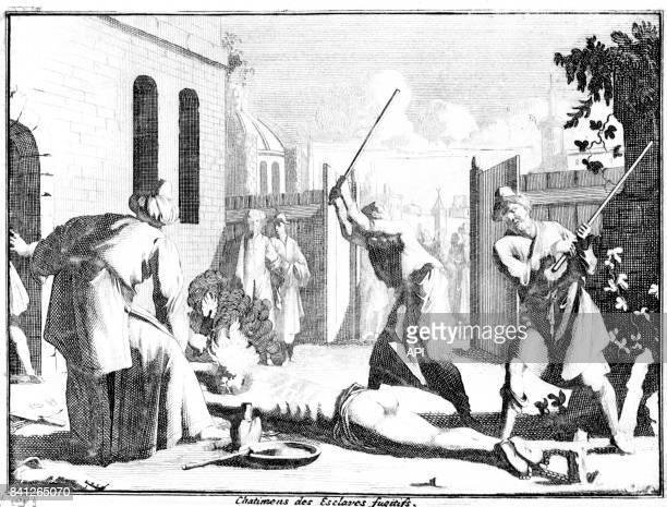 Châtiment d'un esclave fugitif dans l'empire Ottoman