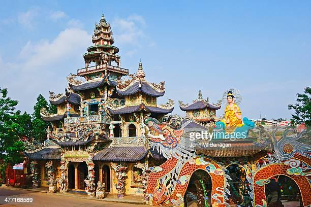 Chua Linh Phuoc temple, Dalat
