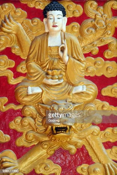 Chua On Lang taoist temple Buddha Amitabha Ho chi Minh City Vietnam