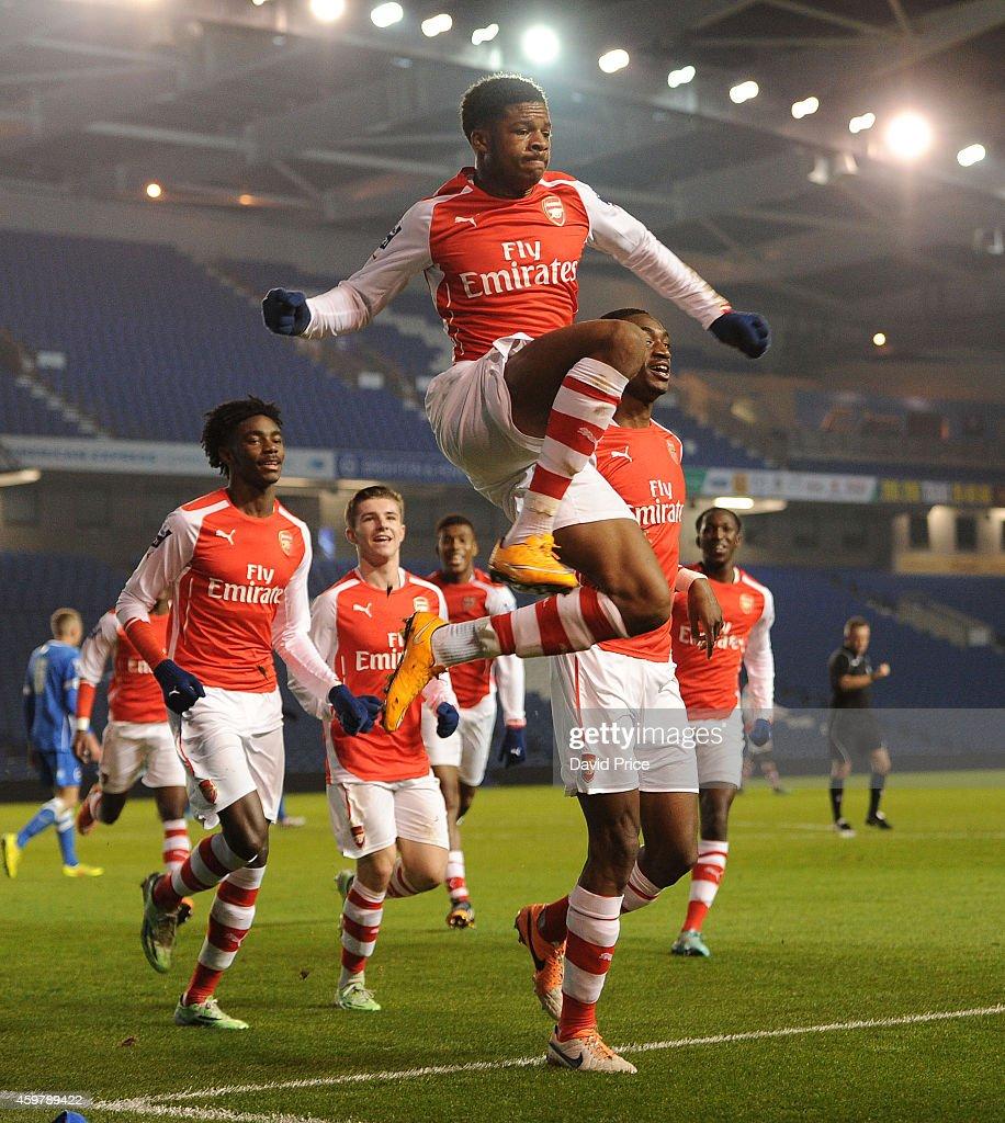 Brighton & Hove Albion v Arsenal: Barclays U21 Premier League - Division 2