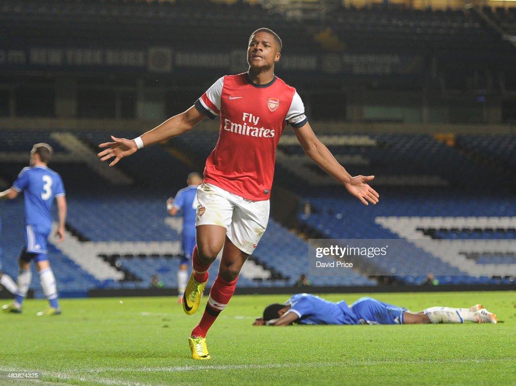 Chelsea U18 v Arsenal U18 - FA Youth Cup Semi Final: First Leg