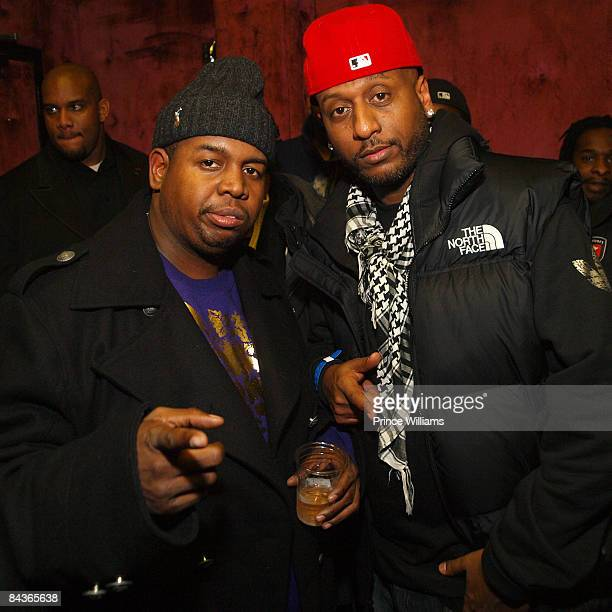 Chubbie Baby and Alex Gidewon attend Young Jeezy's 'Presidential Status' Inauguration Ball at Club Love on January 18 2009 in Washington DC