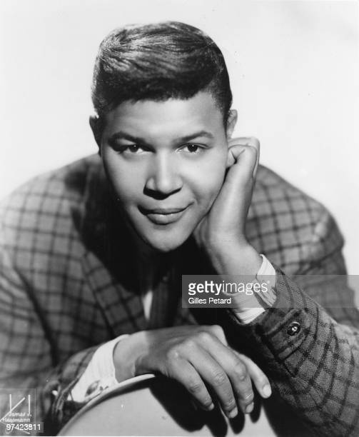 Chubby Checker poses for a studio portrait in 1963 in the United States