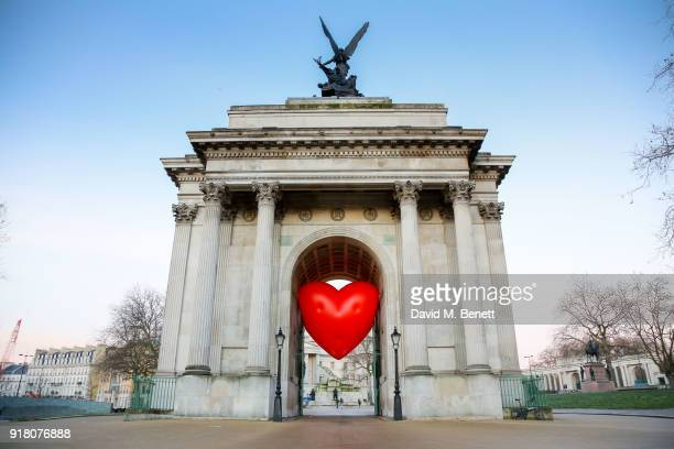 Chubby Hearts Over London is a design project conceived as a love letter to London by Anya Hindmarch in partnership with the Mayor of London The City...