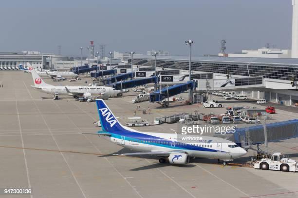 中部中部国際空港の日本 - 中部国際空港 ストックフォトと画像