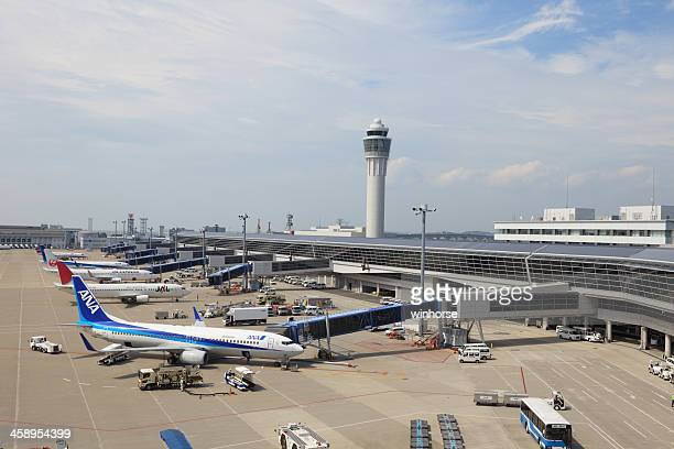 中部中部国際空港 - 中部国際空港 ストックフォトと画像